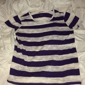 Purple & White Arizona 14/18 XL